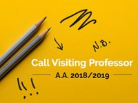 Visiting Professors, call for application